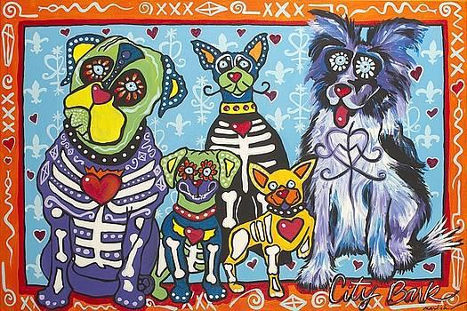 City Bark by Mardi Claw