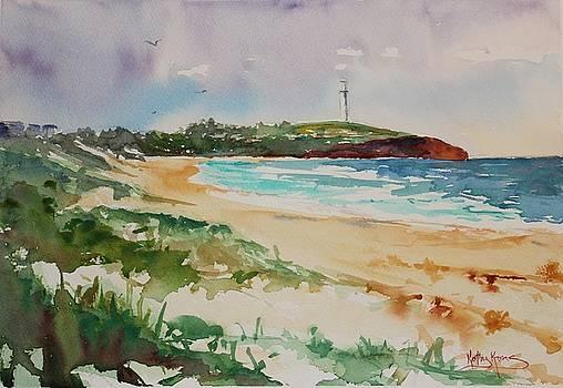 City Beach by Kathy  Karas