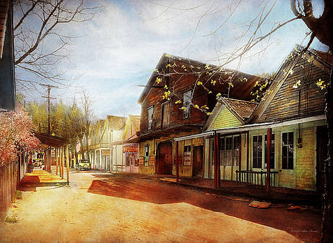 Mike Savad - City - California - The town of Downieville 1933