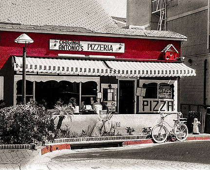 City -  Catalina Island - The Pizza by Kip Krause