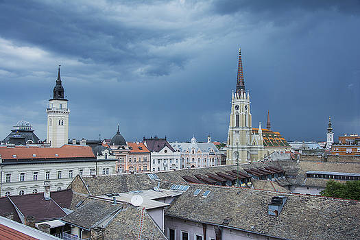 Newnow Photography By Vera Cepic - City center of Novi Sad before the storm
