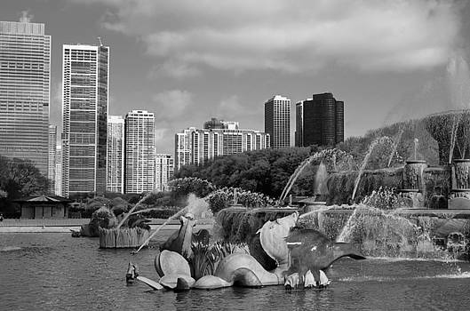 City Fountain by Collette Rogers