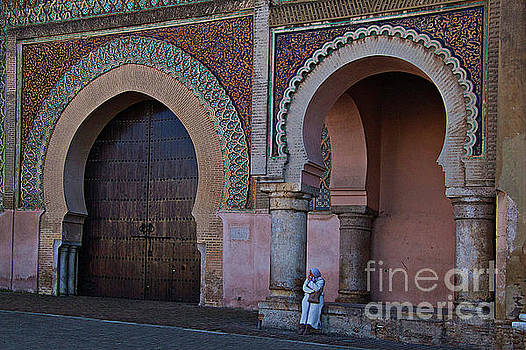 City gate, Meknes by Jim Wright