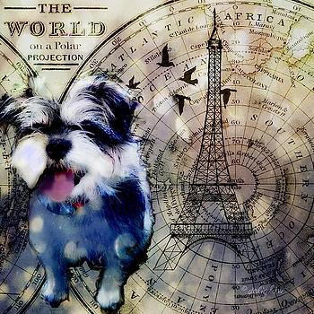 City Girl Goes to Paris by Delight Worthyn