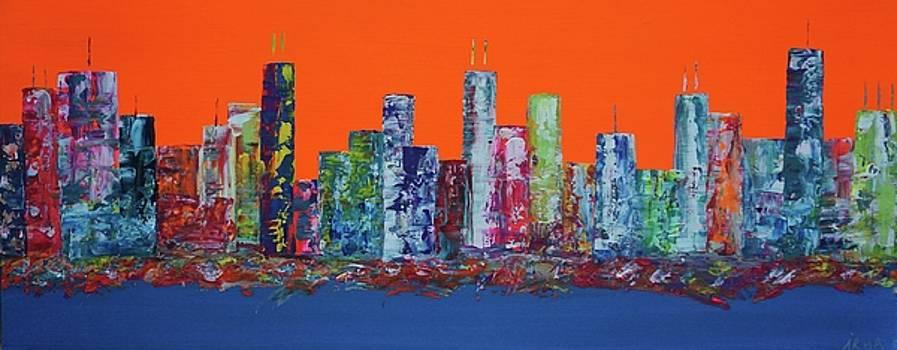 City Glow by IRMA Bijdemast