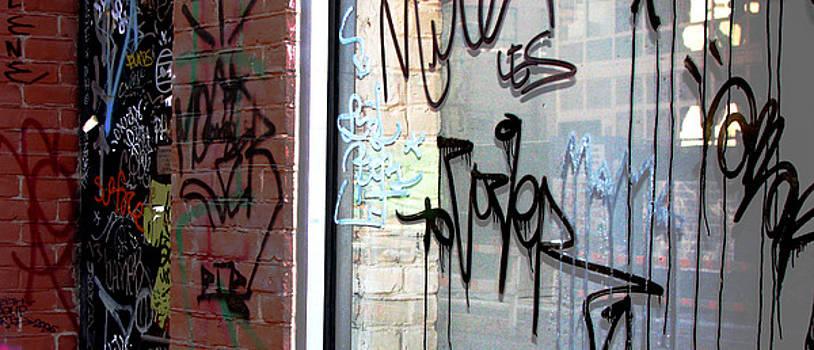City Graffiti  by Oksana Pelts