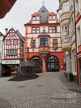 City Hall in Bernkastel Kues Germany by Louise Heusinkveld