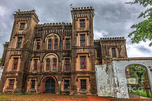 City Jail on Magazine Street in Charleston SC by Dale Powell