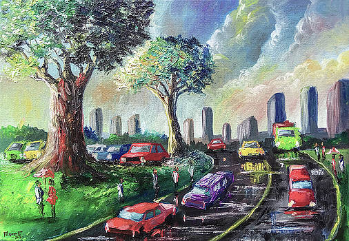 City Life by Anthony Mwangi