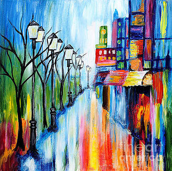 City Lights by Art by Danielle