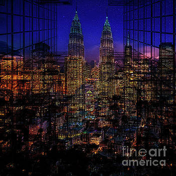 City Lights by Barbara Dudzinska