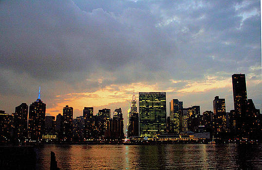 City Lights by Elom Bowman