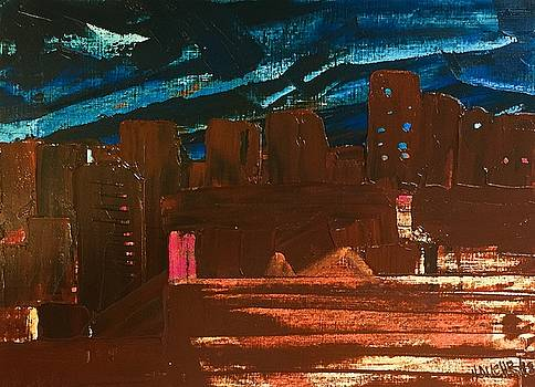 City lights by Norma Duch