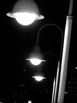 City Lights by Oksana Pelts