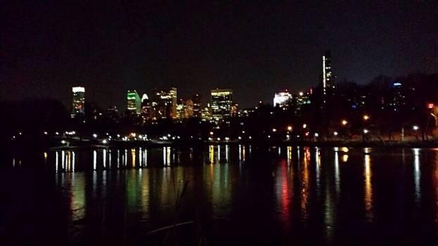 City lights by Rabiah  Hasan