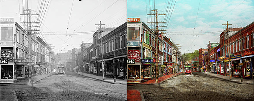 City - MA Glouster - A little bit of everything 1910 - Side by Side by Mike Savad