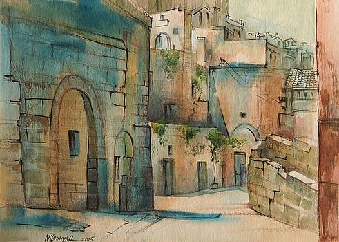 city  Matera-1 by Khromykh Natalia