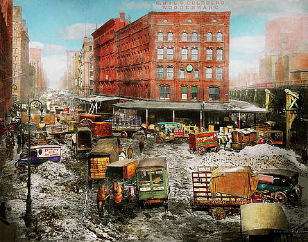 Mike Savad - City - New York NY - Stuck in a rut 1920