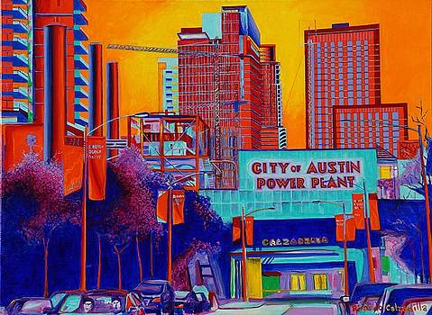 City of Austin Power Plant by Ricardo Calzadilla
