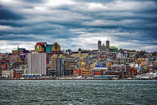 Colourful Downtown St. John's by Gord Follett