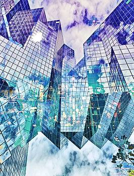 City of glass by Aiden Nettavong
