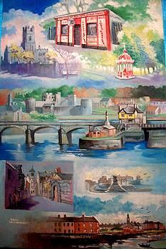 City Of Limerick Ireland by Paul Weerasekera