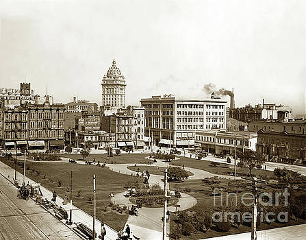 California Views Mr Pat Hathaway Archives - City of Paris and Call Building Union Square, San Francisco May 28, 1900
