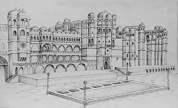 City Palace of Udaipur  by Yash