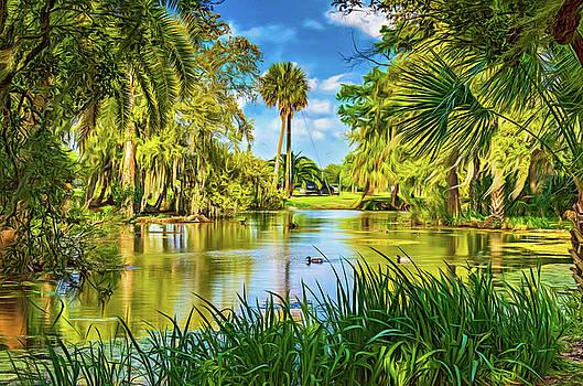 Steve Harrington - City Park Lagoon 3 - Paint