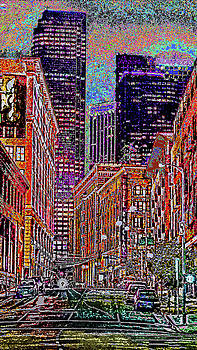 City Perspective  by Kenneth James