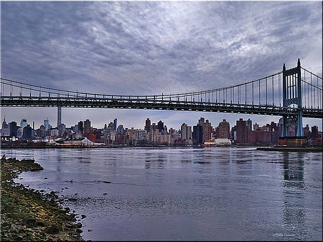 City Scape from Astoria Park by Mikki Cucuzzo