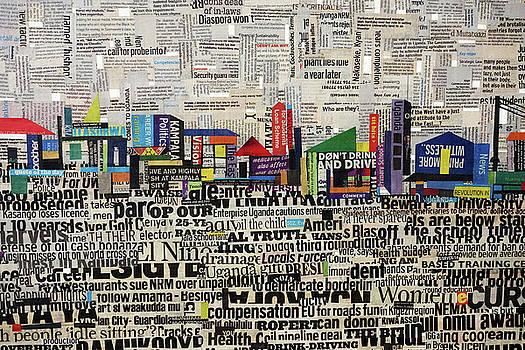 City Scape by Ronex Ahimbisibwe