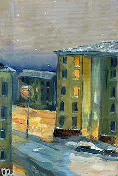 City Sleep by Lelia Sorokina