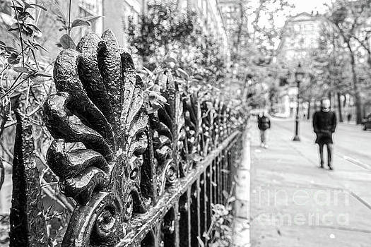 City Street by Ana V Ramirez