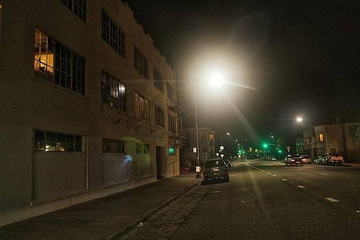 City Street Twilight by Philip Hennen