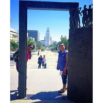 City Tour #dtla #cityhall by Claudia Garcia Trejo
