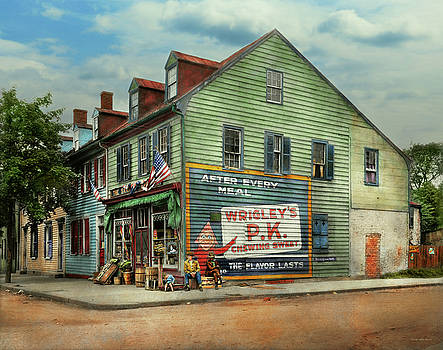 Mike Savad - City- VA - C and G Grocery Store 1927
