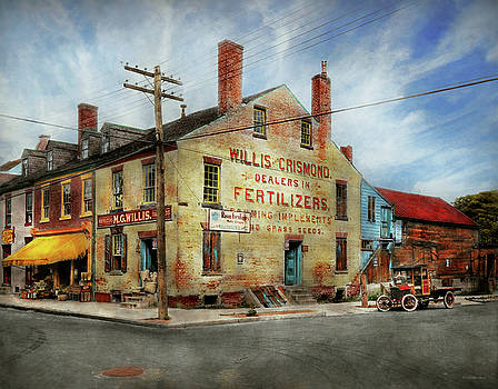 Mike Savad - City - VA - Willis and Crismond, Dealers in Fertilizers 1928