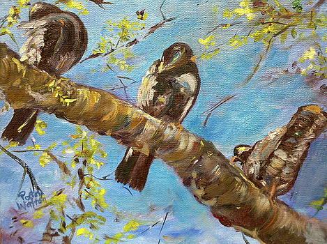 Citybirds by Patsy Walton