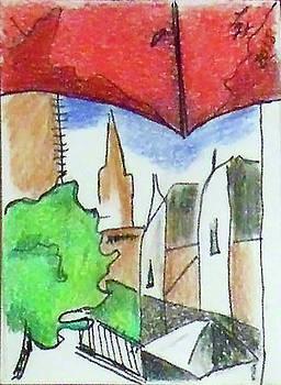 Cityscape 963 by Loretta Nash