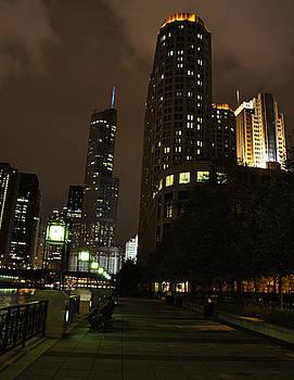 Cityscape Chicago by Jennifer Ferrier