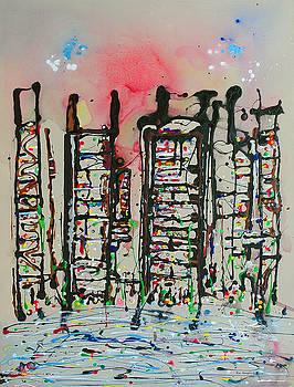 Cityscape I by Kai Kingsley III