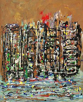 Cityscape II by Kai Kingsley III