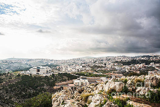 Cityscape in Israel by Kaitlyn Suter