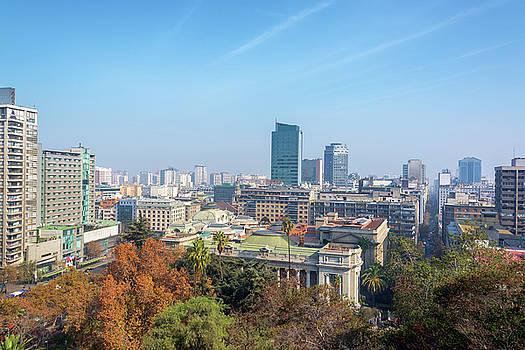 Cityscape of Santiago, Chile by Jess Kraft
