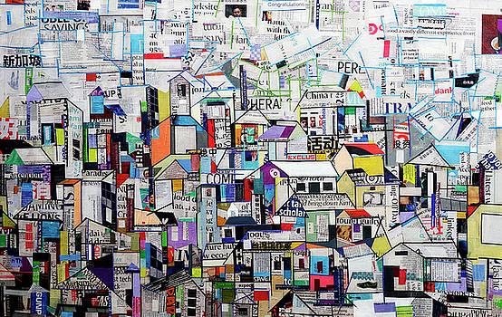 Cityscape by Ronex Ahimbisibwe