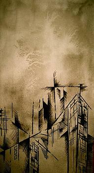 Cityscape Three by Jeff DOttavio