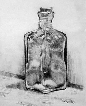 Civil War Bottle by William Hay