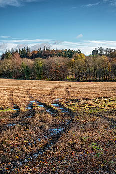 Jeremy Lavender Photography - Clackmannan Tower in Central Scotland