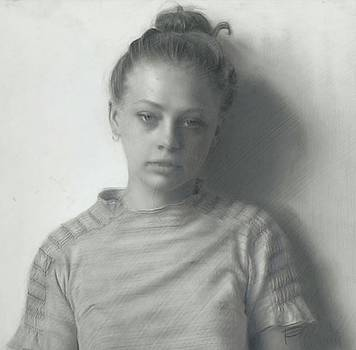 Claire Seated by Tracy Frein